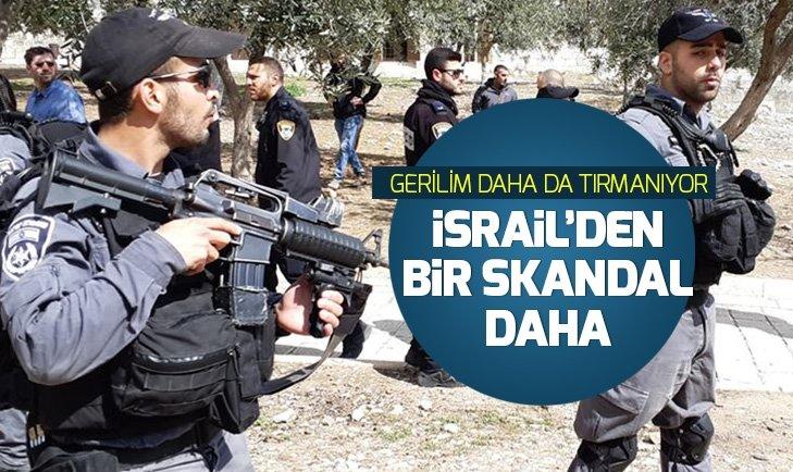 İsrail polisi imamlara saldırdı