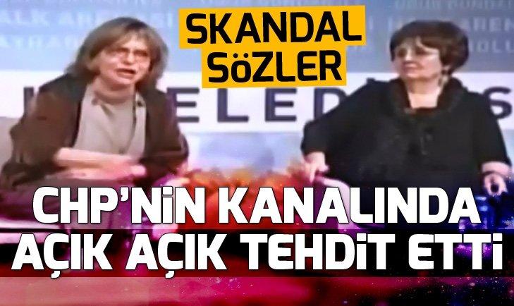 Halk TV'de skandal yayın! Canlı yayında vatandaşları tehdit etti
