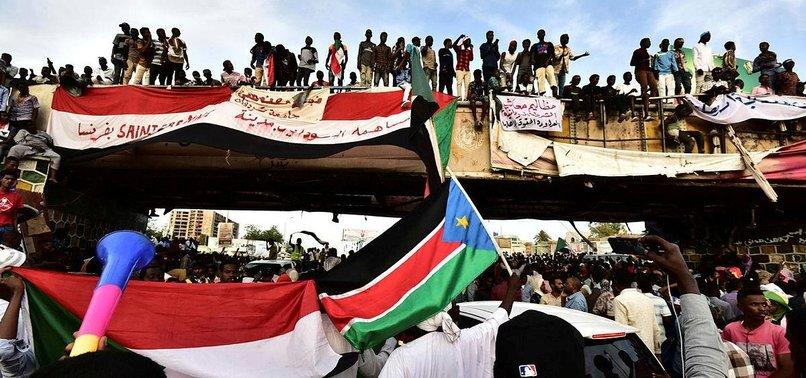 SUDAN ORDUSUNDAN GÖSTERİCİLERE MÜDAHALE