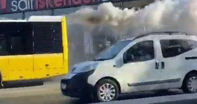 İETT İstanbulluyu bir kez daha isyan ettirdi! Dumanlar çıktı ölümden döndüler