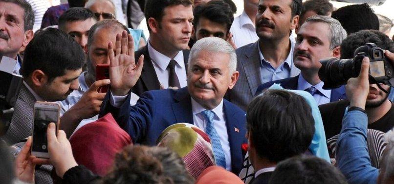 BİNALİ YILDIRIM, BAĞCILAR'DA ESNAF ZİYARETİ YAPTI