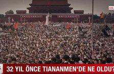 32 yıl önce Tiananmen'de ne oldu?