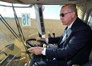 Başkan Erdoğan test etmişti! Türkiye'nin ilk yerli ve milli elektrikli traktörü sahalarda