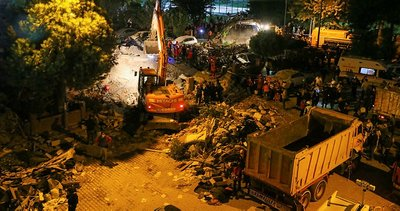 Son dakika: İzmir'deki depremde enkaz altında kalan Buse'yi kurtarma çalışmaları sürüyor