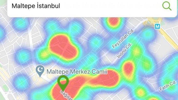İşte İstanbul'daki en riskli bölge! Koronavirüs risk haritası yeni güncellendi! İşte Hayat Eve Sığar uygulamasında İstanbul'daki riskli ilçeler