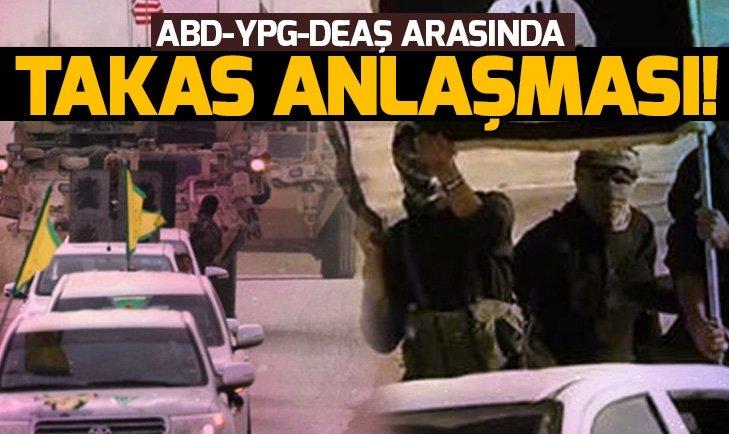 ABD-YPG/PKK-DEAŞ ARASINDA TAKAS ANLAŞMASI!
