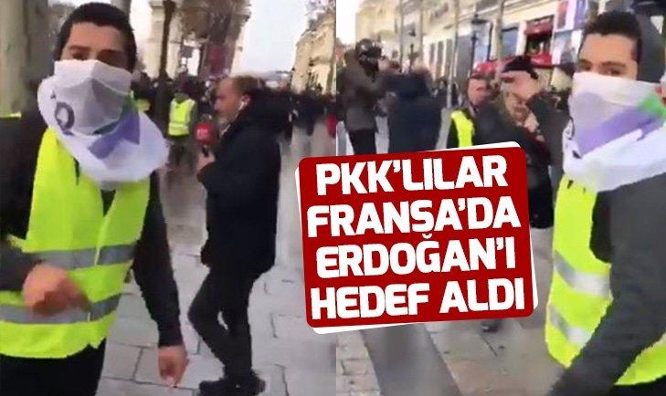 FRANSA'DA BİR PKK'LI: ERDOĞAN DA GİDECEK