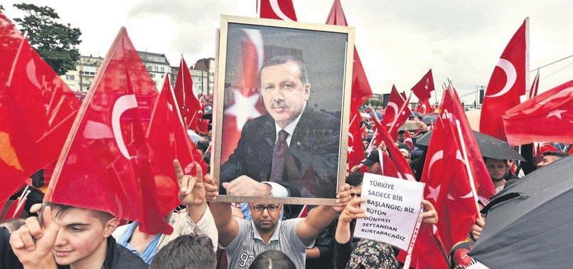 İŞTE ALMANYA'NIN GERÇEK YÜZÜ: ERDOĞAN'A YASAK PKK'YA SERBEST!