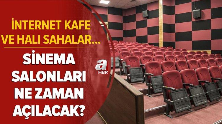 Son dakika: Sinema salonları ne zaman açılacak? 2 Mart'ta internet kafe ve halı sahalar açılacak mı? Kabine kararları...