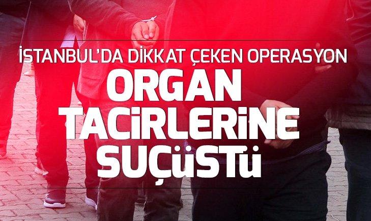 İSTANBUL'DA ORGAN MAFYASINA OPERASYON
