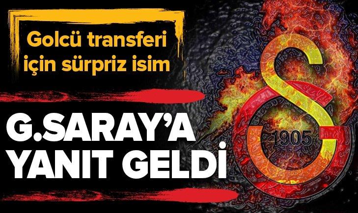 GOLCÜ OYUNCUDAN GALATASARAY'A FLAŞ YANIT!