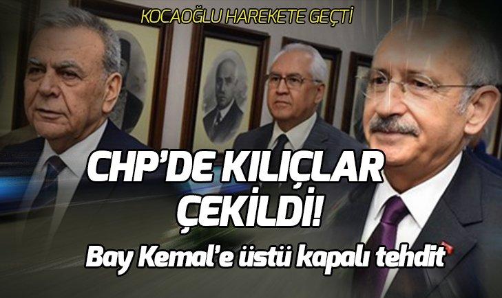 CHP'DE KILIÇLAR ÇEKİLDİ! KOCAOĞLU'NDAN FLAŞ HAMLE