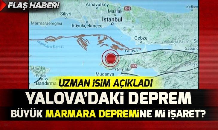 Yalova'daki deprem büyük Marmara depremine mi işaret?
