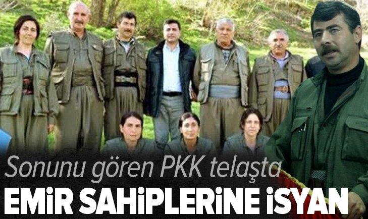 PKK'dan emir sahiplerine isyan! Sonlarını gördüler