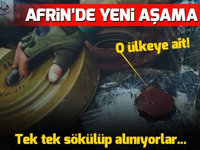 AFRİN'DE YENİ AŞAMA: EYP VE MAYINLARIN TEMİZLENMESİ!