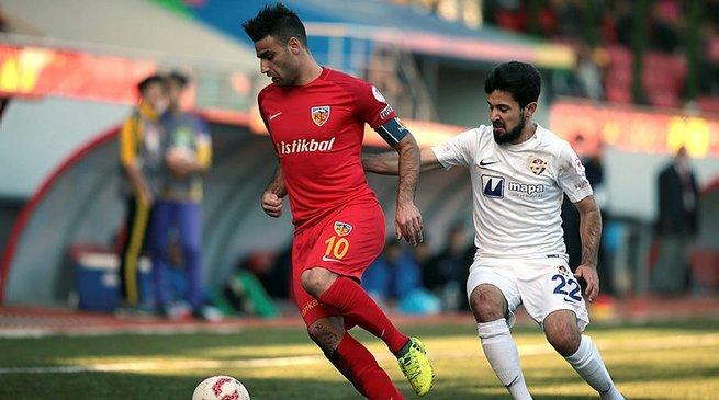 Kayserispor, Eyüpspor'u mağlup ederek turladı