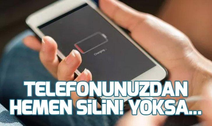 TELEFONUNUZDAN HEMEN SİLİN! YOKSA...