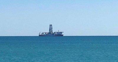 Yavuz gemisi Mersin açıklarına ulaştı