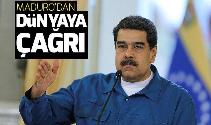 Maduro'dan Trump'ın tehditlerine karşı dünyaya çağrı!