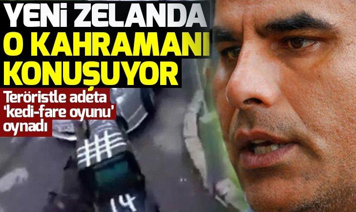 Yeni Zelanda onu konuşuyor! Teröriste silahsız karşı koyarak camidekilerin hayatını kurtardı