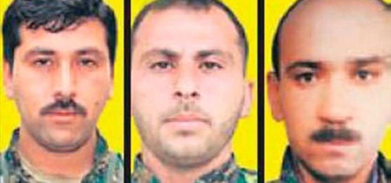 YPG'NİN 3 ÜST DÜZEY İSMİ ÖLDÜRÜLDÜ
