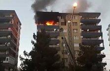 Diyarbakır'da korkutan yangın