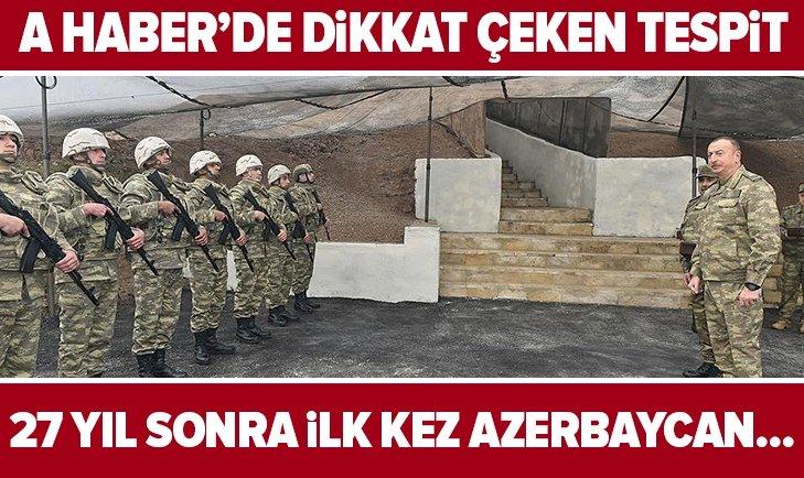 27 yıl sonra ilk kez Azerbaycan...
