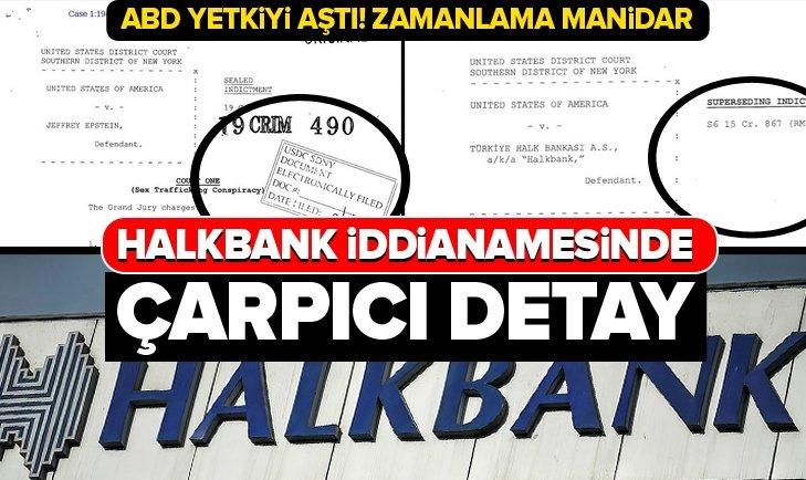 HALKBANK İDDİANAMESİNDE ÇARPICI DETAY!