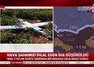 Son dakika: Türk savaş uçakları Suriye sınırında İHA vurdu! İşte ilk görüntüler |Video