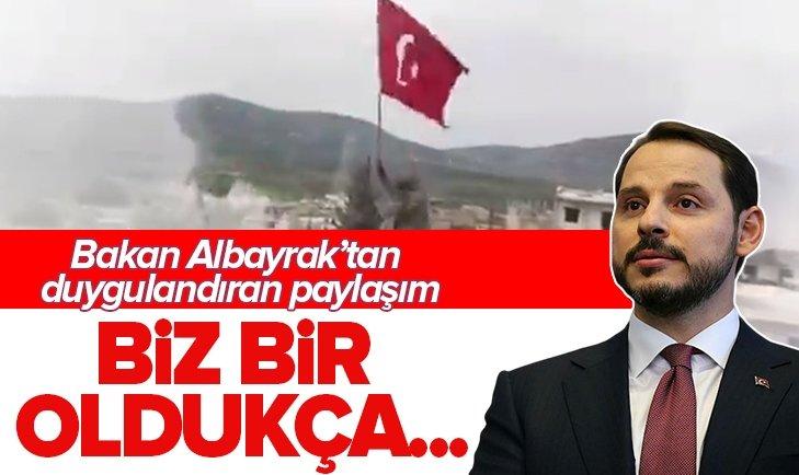 BAKAN ALBAYRAK'TAN 'BARIŞ PINARI' PAYLAŞIMI