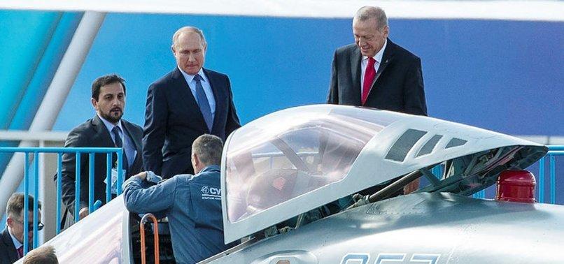 RUSYA'DAN ERDOĞAN'IN İNCELEDİĞİ SU-57LERLE İLGİLİ AÇIKLAMA