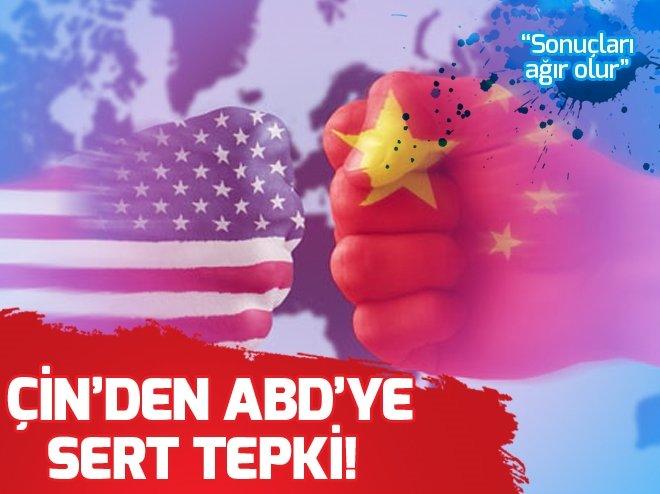 ÇİN'DEN ABD'YE SERT TEHDİT