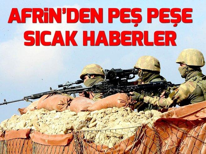 AFRİN'DE 6 KÖY DAHA PYD/PKK'DAN TEMİZLEDİ