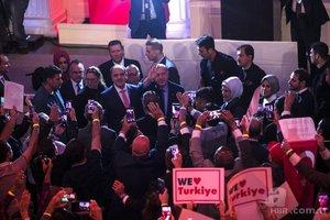 Başkan Erdoğan'a ABD'de sevgi seli