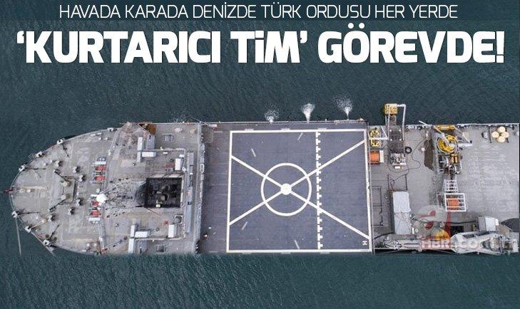 TÜRKİYE'NİN DENİZALTINDAKİ KURTARICI ERLERİ...