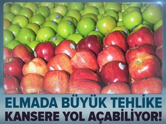 ELMADAKİ PARAFİN TEHLİKESİ!