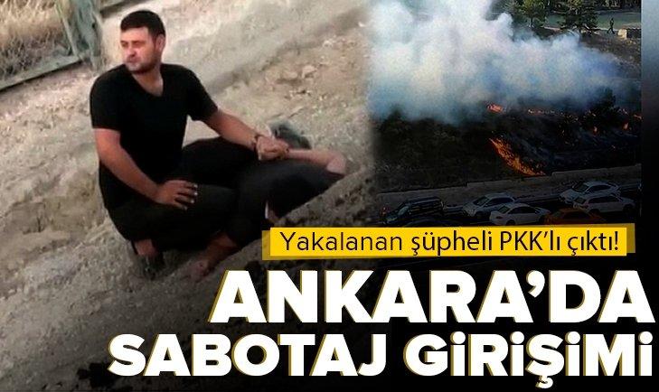 Son dakika: Ankara'da kışlaya sabotaj girişimi önlendi | Şüpheliyle ilgili flaş detaylar
