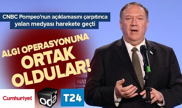 CNBC'NİN ÇARPITTIĞI SKANDAL HABERE ORTAK OLDULAR!