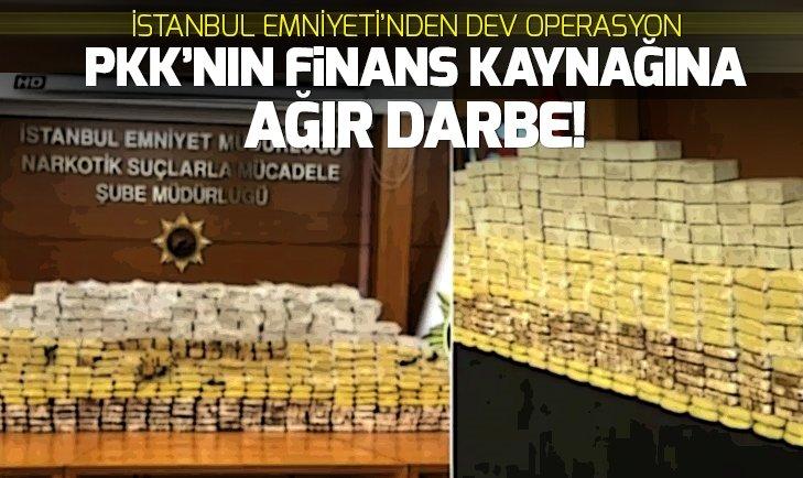 NARKOTİK EKİPLERİNDEN DEV OPERASYON!