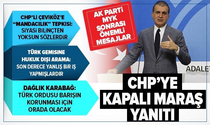 AK Parti MYK sonrası kritik açıklamalar...