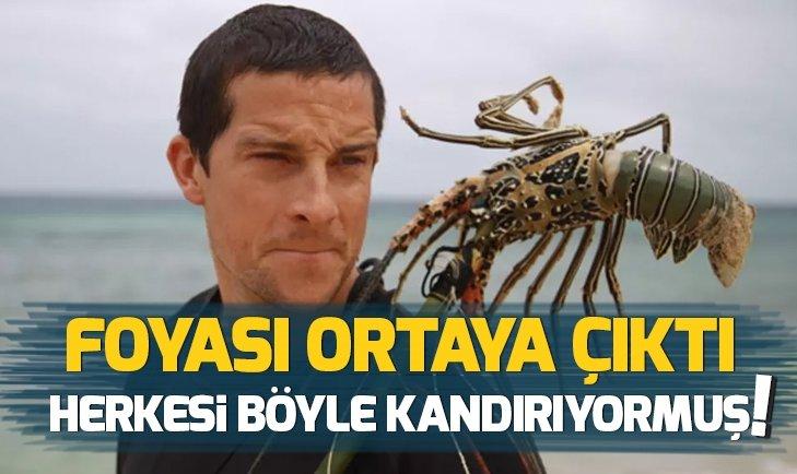 BEAR GRYLLS HERKESİ BÖYLE UYUTMUŞ!