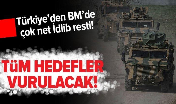TÜRKİYE'DEN KRİTİK İDLİB AÇIKLAMASI!