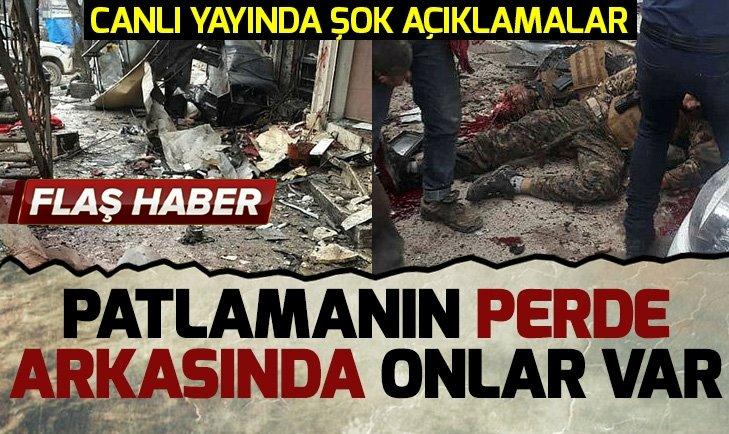 MÜNBİÇ'TEKİ PATLAMADA PROVOKASYON ŞÜPHESİ!