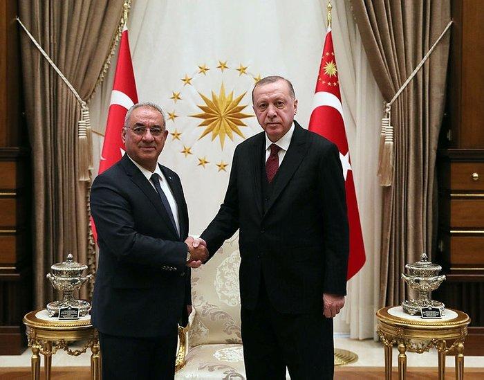 DSP Genel Başkanı Aksakal, Başkan Erdoğan ile görüşmesini anlattı