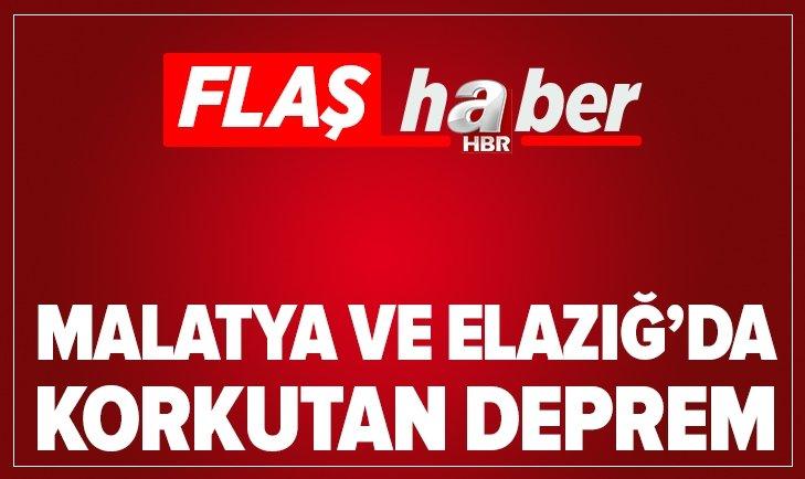 SON DAKİKA: ELAZIĞ SİVRİCE'DE ARTÇI DEPREM!