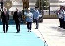 Cumhurbaşkanı Erdoğan, İlham Aliyev'i resmi törenle karşıladı