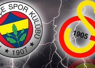 Derbi hakkında unutulmaz sözler: Yıllardır Galatasaray'da oynuyorum ama Fenerbahçe...