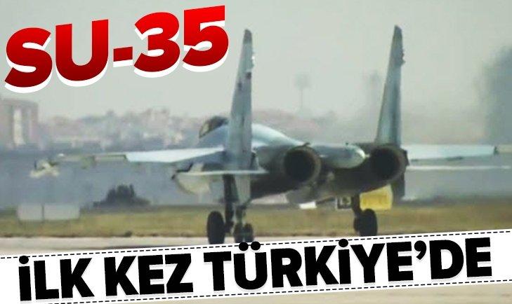 SU-35 TEKNOFEST'TE