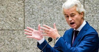 Hollandalı ırkçı Geert Wilders bu kez peygamber efendimizi hedef aldı