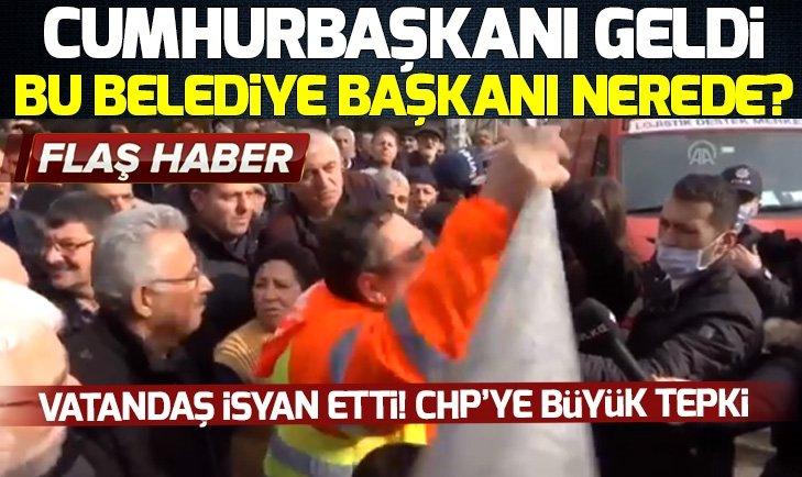 Vatandaş isyan etti! CHP'li başkan Altınok Öz'e büyük tepki
